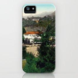 north italian landscape iPhone Case