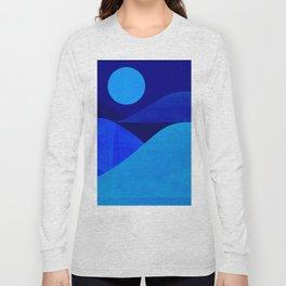 Abstraction_Moonlight Long Sleeve T-shirt