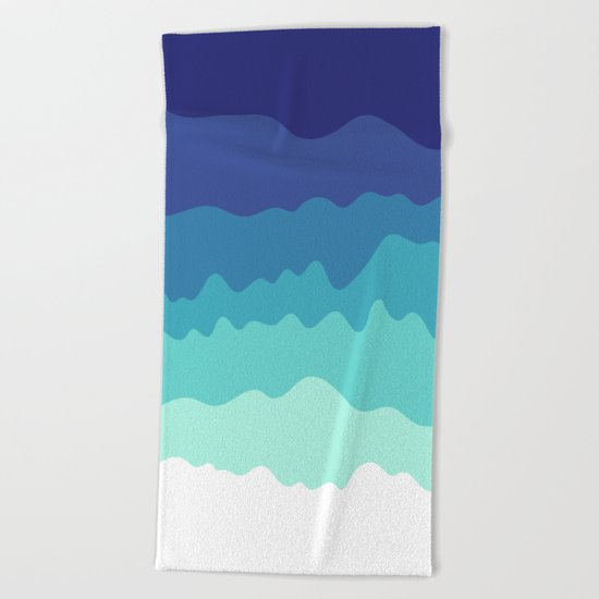 Abstract Study 5 Beach Towel
