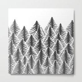 Pine Party Metal Print