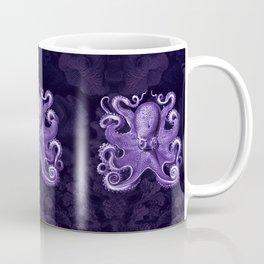 Octopus1 (Purple, Square) Coffee Mug