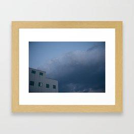 Bye Bye Framed Art Print