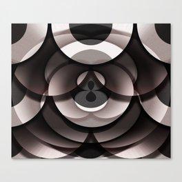 Overlay Doughnut Box Canvas Print