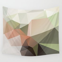 KASTANIE - low poly illustration pattern Wall Tapestry