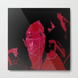Autorretrato asintomatico Metal Print