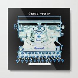 """Typowriter - """"Ghostwriter"""" Metal Print"""
