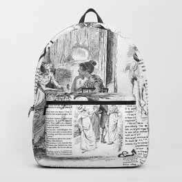 Pride and Prejudice - Pages Backpack