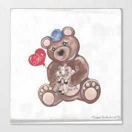 Cubbie Canvas Print