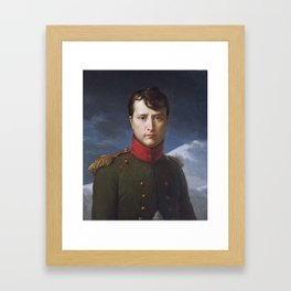 Napoléon Bonaparte as First Consul, feb.1803 François Gérard Framed Art Print