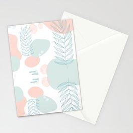 Pastel Pop in Seafoam Stationery Cards