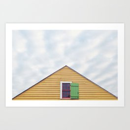 Bywater home, New Orleans 2013 Art Print