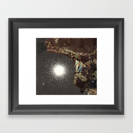 star pool Framed Art Print