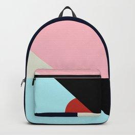 Circle Series - Red Circle No. 2 Backpack
