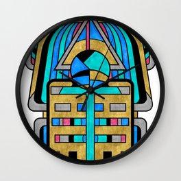 Scarabesque - Digital Art Deco Design Wall Clock