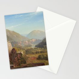 The Juniata Evening 1864 By Thomas Moran | Scenic National Park View Reproduction Stationery Cards