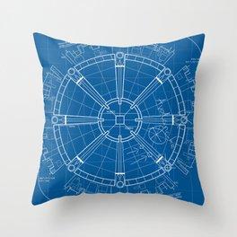 Project Midgar Throw Pillow