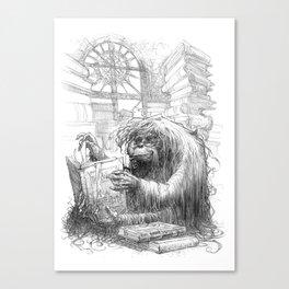 Librarian Canvas Print