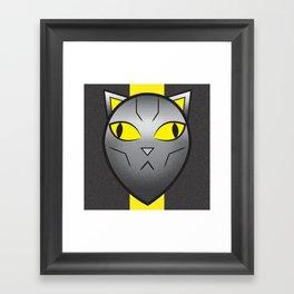 CatBot Framed Art Print