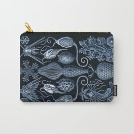 Ernst Haeckel Amphoridea Sea Life Carry-All Pouch