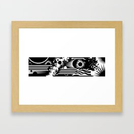 KRACKLE! Framed Art Print