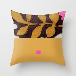 black&pink3 Throw Pillow
