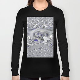 White Lacy Long Sleeve T-shirt