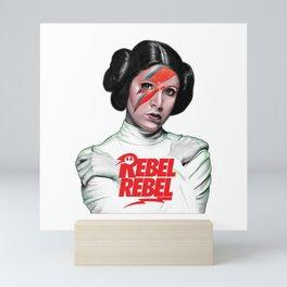 Princess Lei Rebel Mini Art Print