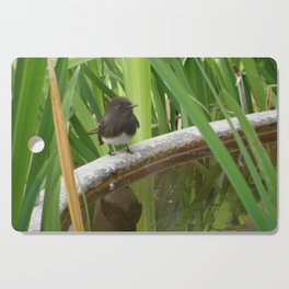 Black Phoebe at the Fountain Cutting Board