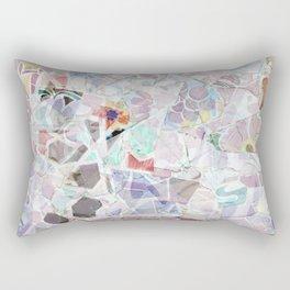 Mosaic of Barcelona V Rectangular Pillow