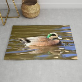 Handsome Quacker Duck by Reay of Light Rug