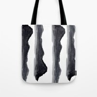 navy Tote Bags featuring Navy by Ren Davis