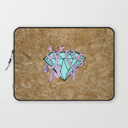 DIAMOND HANDS Laptop Sleeve