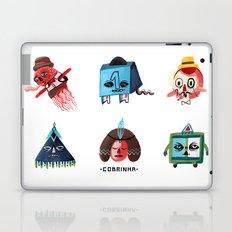 Monster Shapes Laptop & iPad Skin
