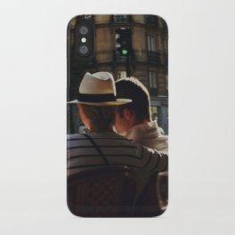 Lovers in Paris iPhone Case