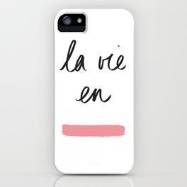 La Vie en Rose x Telma W. iPhone Case
