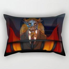 il Diavolo Rectangular Pillow