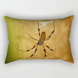 Banana Spider Rectangular Pillow