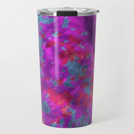 plasticine pattern Travel Mug