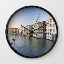 italy - venice - widescreen_559-560 Wall Clock
