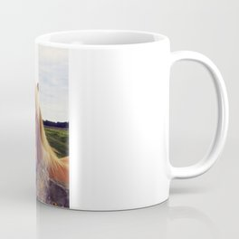 Lovely Horse And Tantallon Castle Coffee Mug