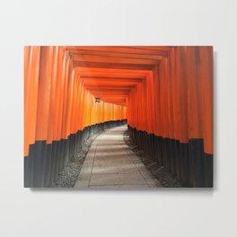 Fushimi Inari Shrine Metal Print