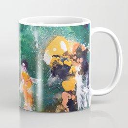 Feeding the Koi Coffee Mug