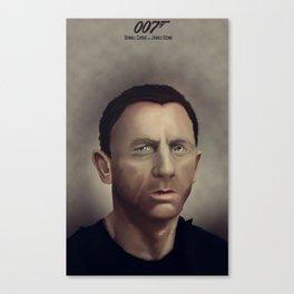 Daniel Craig Canvas Print