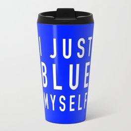 Blue Myself (White) - Arrested Development Travel Mug