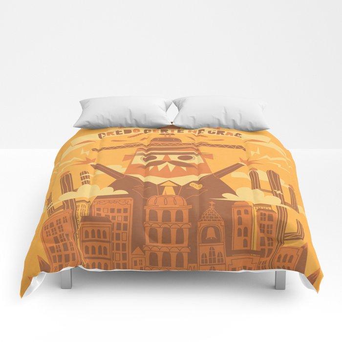 """""""Creo fielmente que no hay un mañana"""" Comforters"""