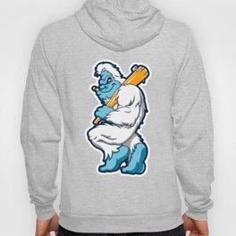 Baseball sasquatch Hoody