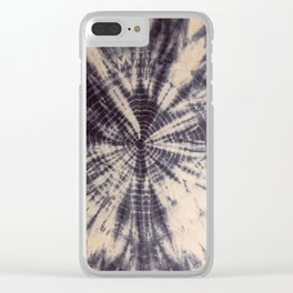 grey boho vibes Clear iPhone Case