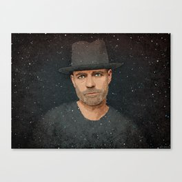 The Tragically Hip's Gord Downie Canvas Print