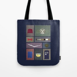 Eleven (Doctor Who) Colors Tote Bag