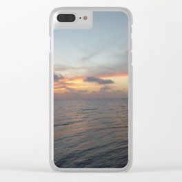 Sunset on Long Key 2 Clear iPhone Case